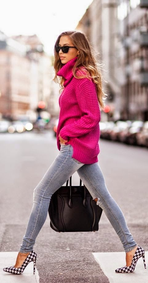 come abbinare il maglione a collo alto abbinamenti maglione a collo alto outfit maglione a collo alto moda inverno turtleneck sweater fashion blog italiani fashion blogger italiane mariafelicia magno colorblock by felym moda inverno 2014 maglione a collo alto nella moda