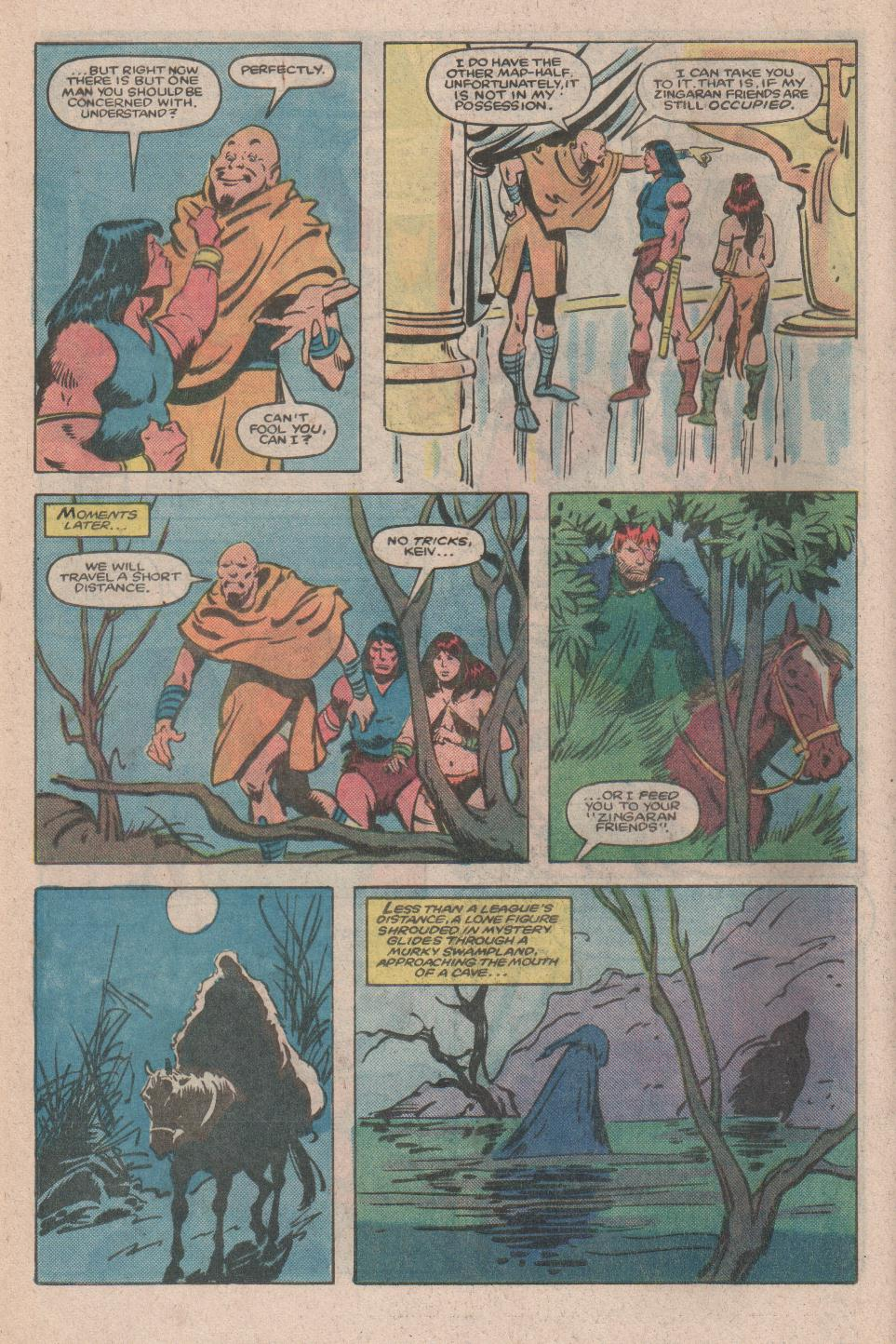 Conan the Barbarian (1970) Issue #173 #185 - English 11