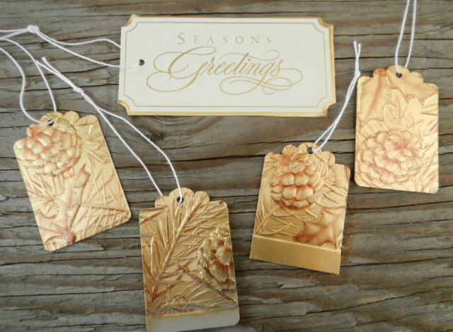 Kanelstrand Simple Diy Upcycled Holiday Card Gift Tags