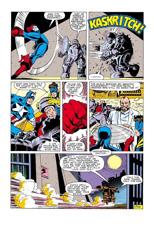 Captain America (1968) Issue #304 #232 - English 23
