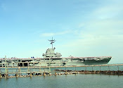 USS Lexington, docked at Corpus Christi, Texas