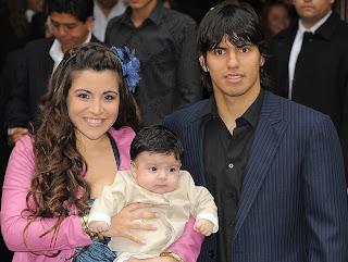 Sergio Aguero Wife Giannina Maradona 2013