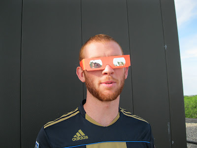 eclipse glasses used for transit of venus