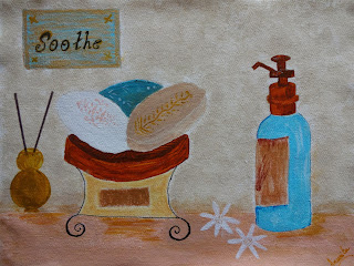 Spa painting