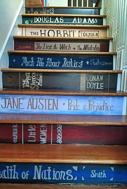 Maravilhosas ideias para escadas