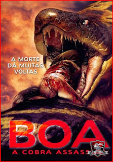 Baixar Filme Boa: A Cobra Assassina DVDRip AVI Dual Audio + RMVB Dublado