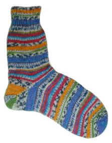 Knitting Pattern Magic Loop Socks : Crafty Frog: The