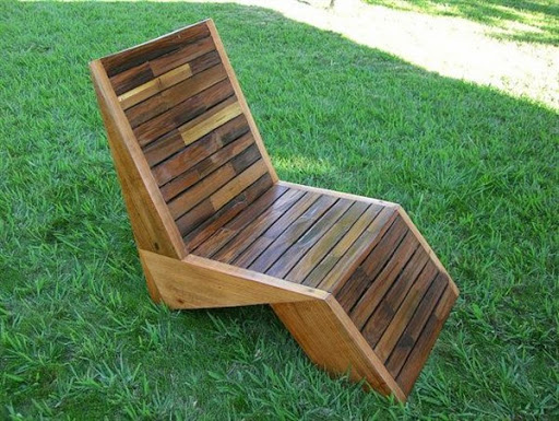 Wooden Lawn Chairs ~ Model furniture daur ulang limbah palet kayu bekas