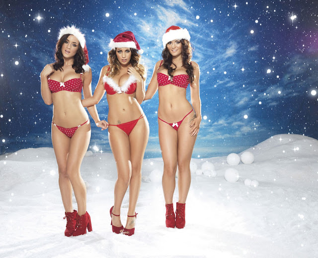 Lucy Pinder, Rosie Jones, Holly Peers & India Reynolds – Nuts Magazine Photoshoot Outtakes (December 2012)