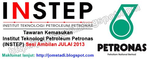 Logo Institut Teknologi Petroleum Petronas_Permohonan Kemasukan Ke INSTEP Sesi Ambilan Julai 2013