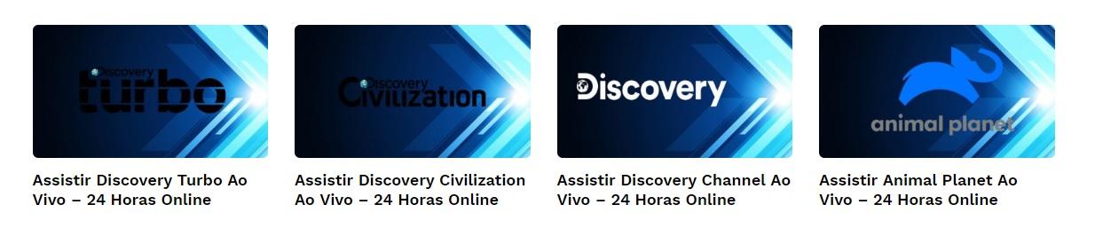 TV Online Documentários da Discovery
