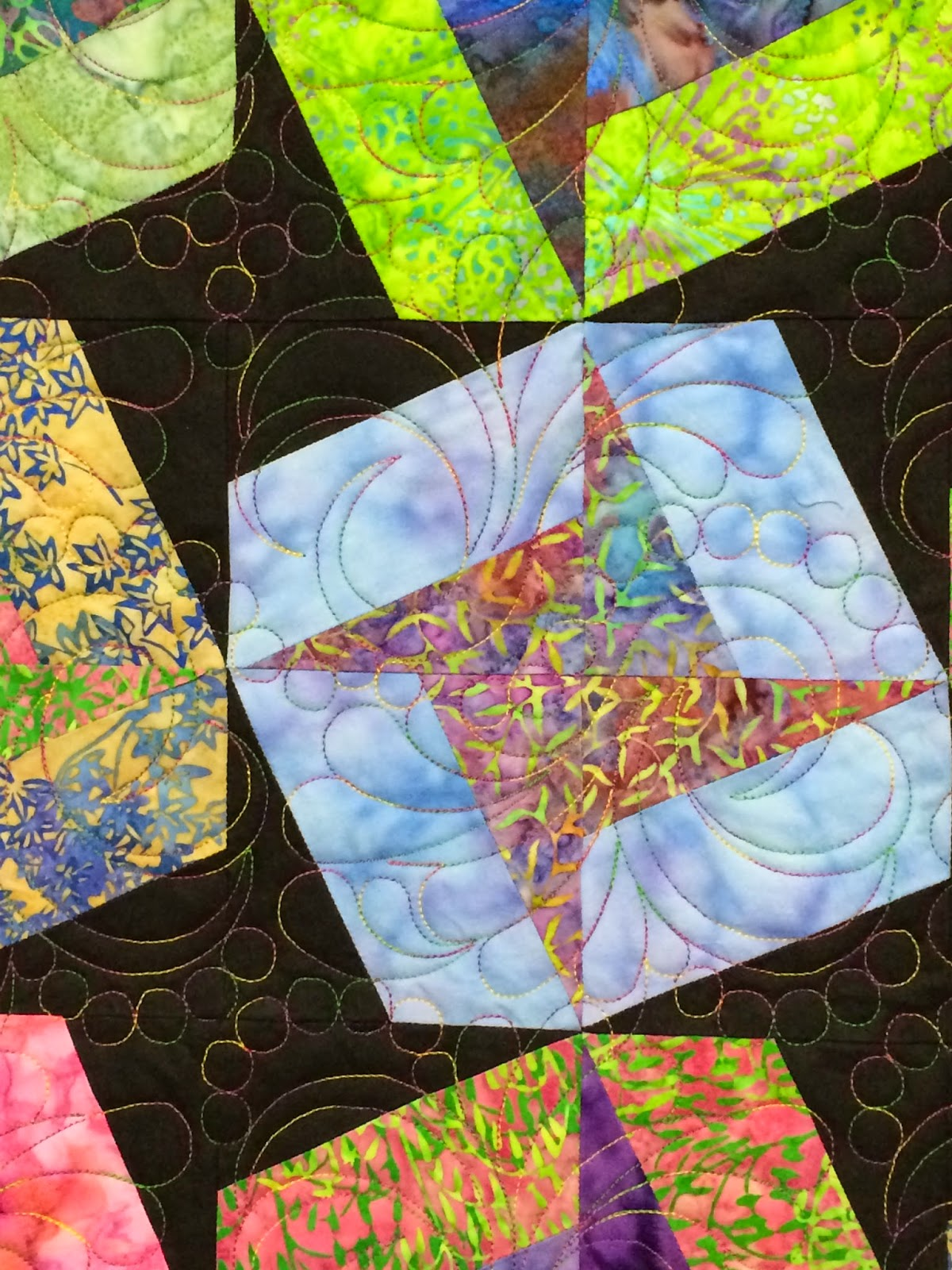 Peggy Krebs Cosmos Quilt