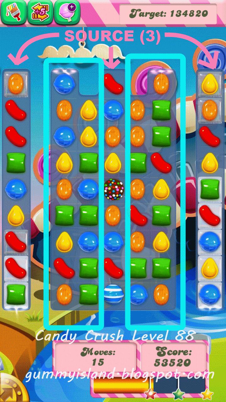 Crush Walkthroughs Level 1 Level 2 Level 3 Level 4 Candy Crush Tips