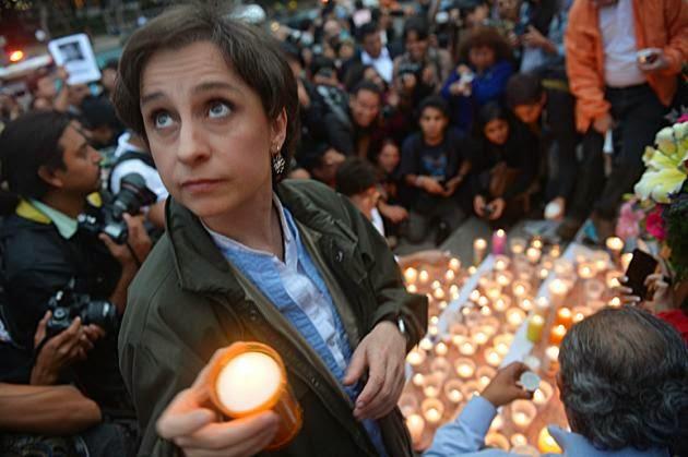 """Aristegui dice que alguien """"con mucho poder"""" planeó su despido"""