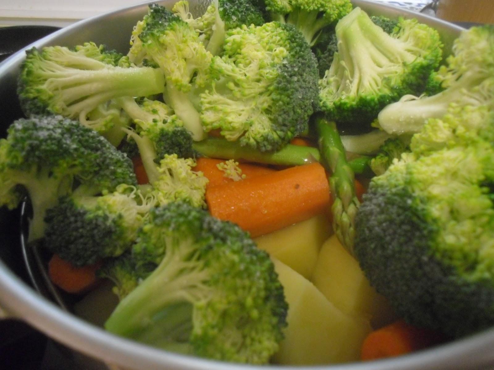 Currycon verduras al vapor - Tiempo de coccion de judias verdes ...