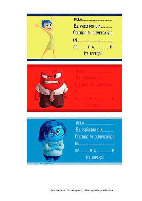 Invitaciones del reves para imprimir gratis