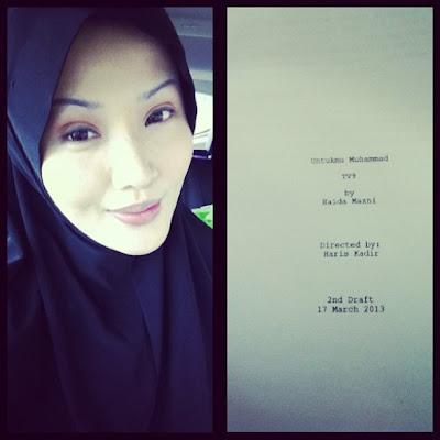 Soo Wincci Pakai Tudung Bertudung Hijab