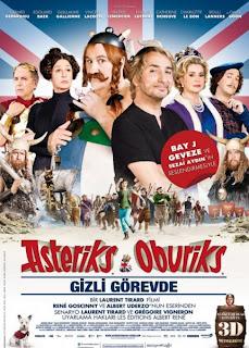 Asteriks ve Oburiks Gizli Görevde izle
