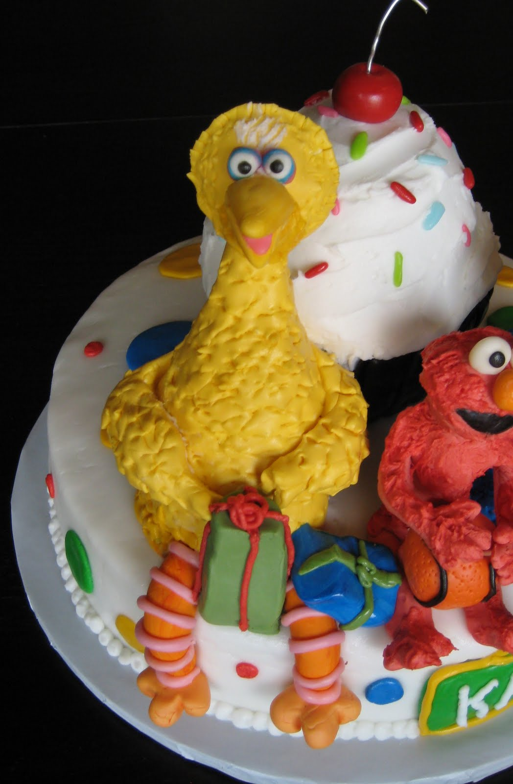 Custom Cakes By Julie Sesame Street Cake