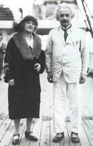 La mujer y Albert.