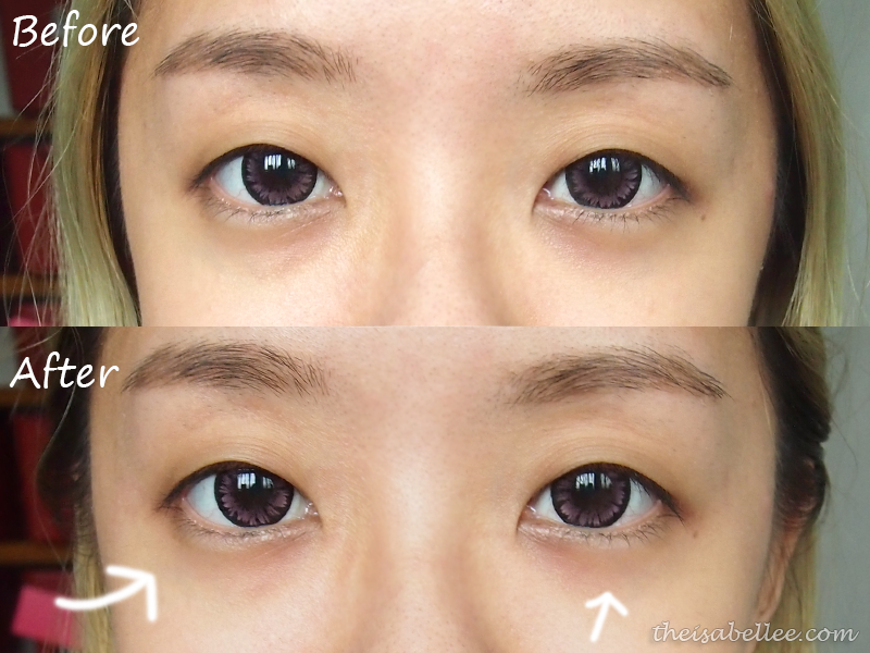 Cettua Half Moon Brightening Eye Patch review and results