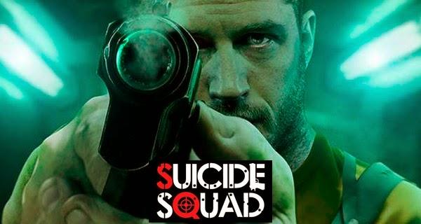 Fan poster de Tom Hardy como Rick Flag para Escuadrón Suicida