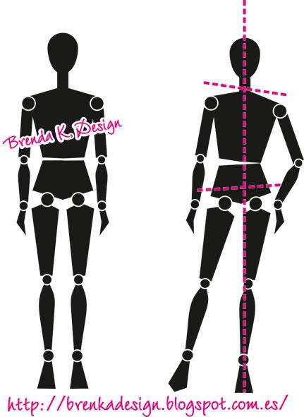 Brenka dise o moda dibujo de figur n de moda 1ra parte for Dibujos de disenos de moda