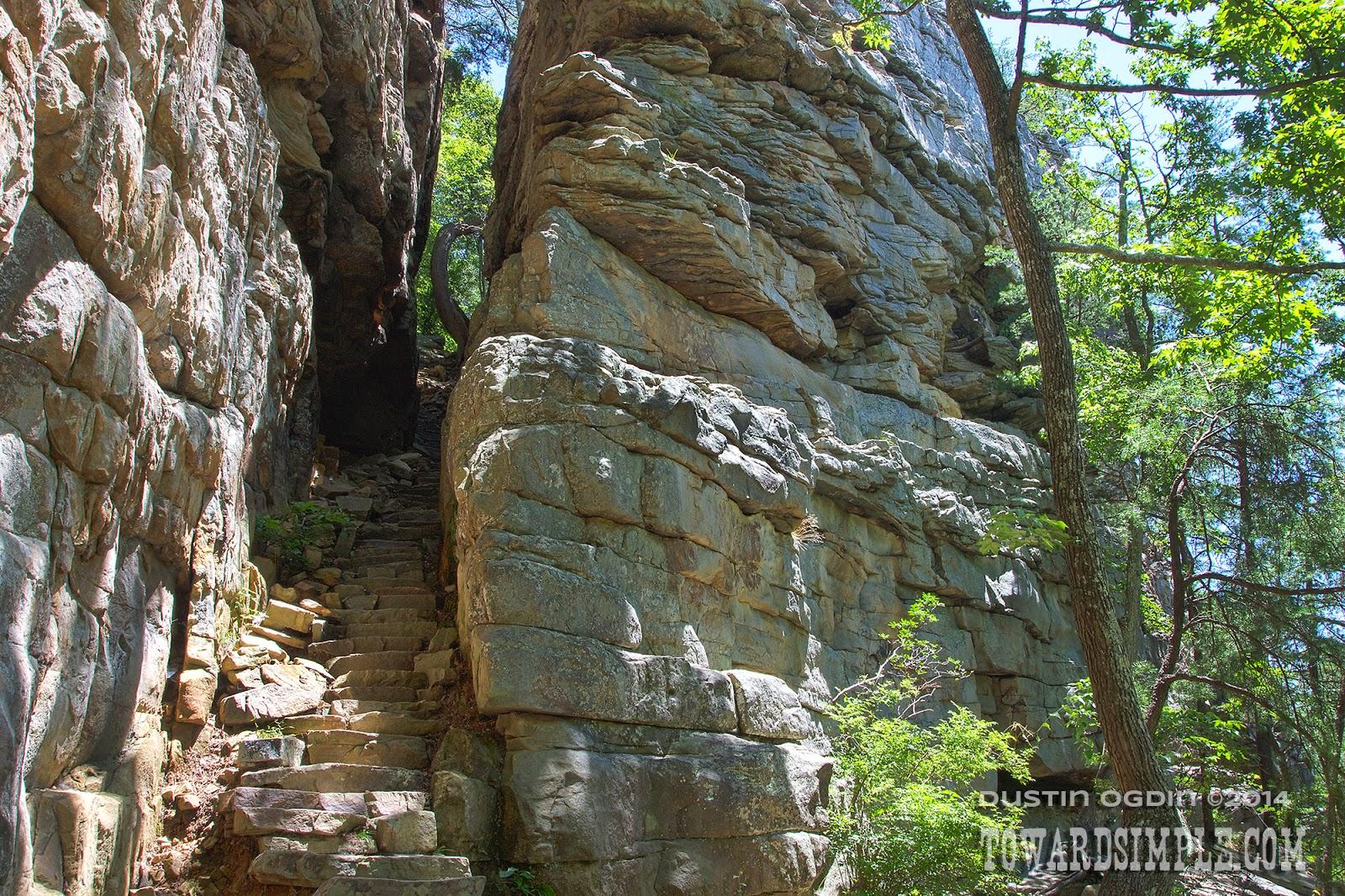Stone Door portal tn & toward simple: Trail Review: Stone Door Loop; Savage Gulf TN