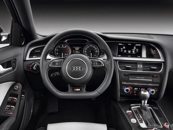 Audi A4 Steering Wheel View