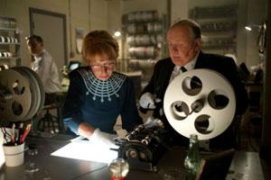 Helen Mirren y Anthony Hopkins en Hitchcock
