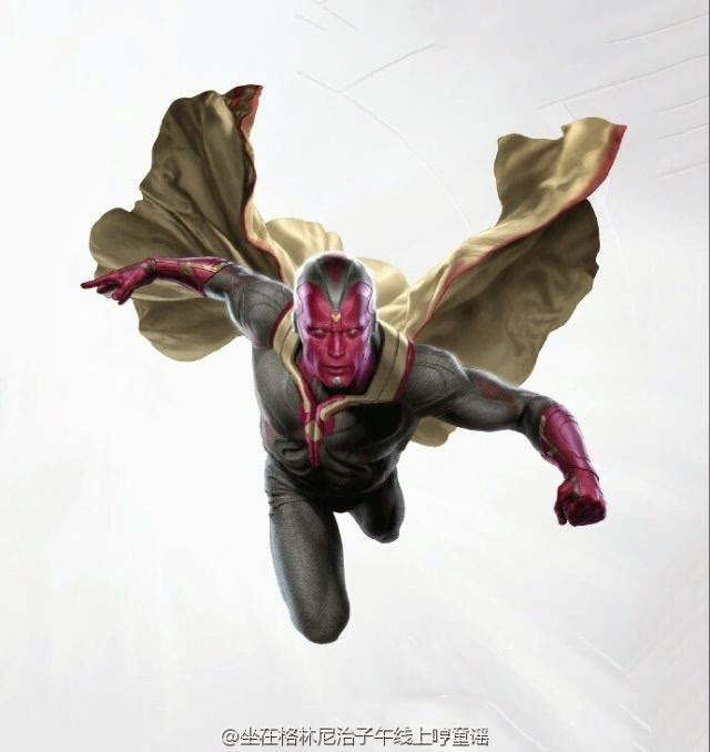 First Online Leak of The Vision in Marvel's Avengers 2