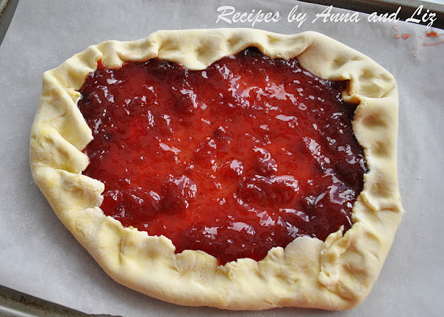 ... Recipes... by Anna and Liz: Strawberry and Blood Orange Crostata