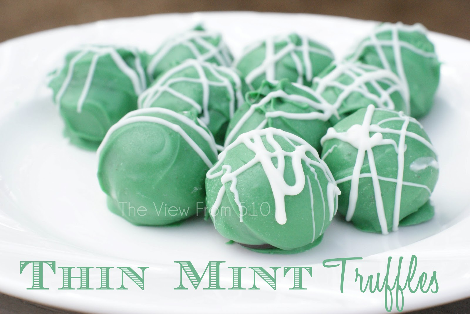 Thin Mint Truffles {Recipe}