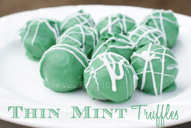 Thin Mint Truffle #recipe