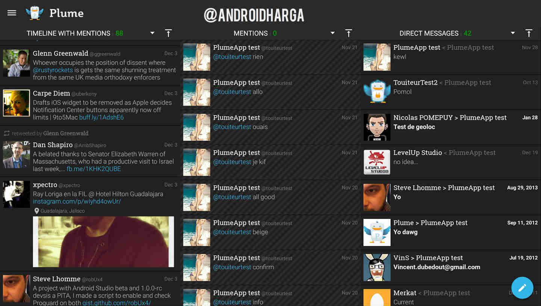Plume for Twitter, Aplikasi Android Twitter Alternatif untuk ASUS Zenfone