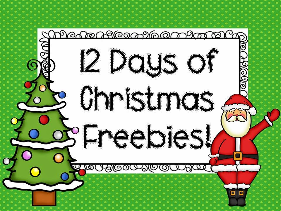 Super Second Grade Smarties: Free Christmas Activities-Twelve Days ...