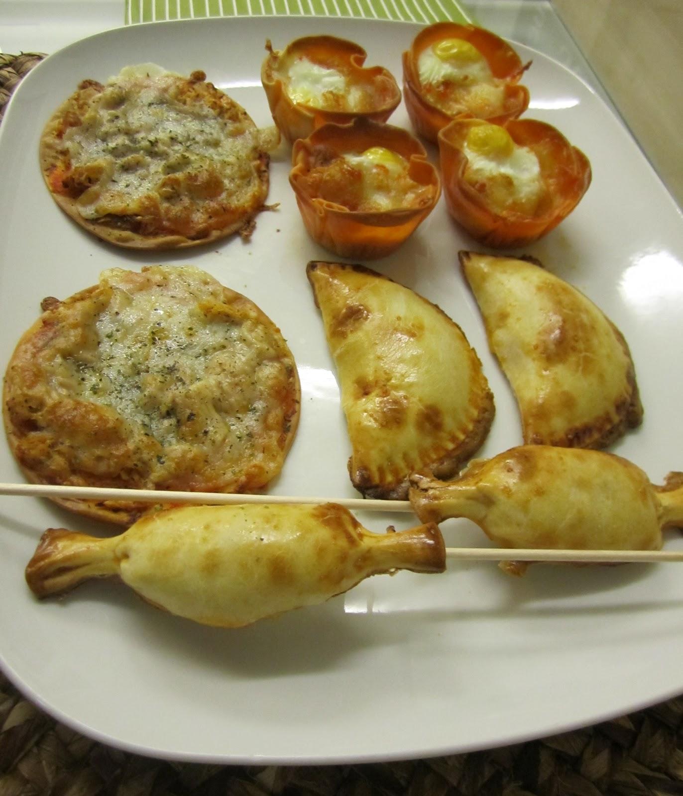 Un domingo en mi cocina: Ideas para fiestas II. Los miércoles cocina ...