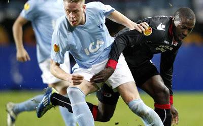 Malmo 0 - 0 AZ Alkmaar (1)