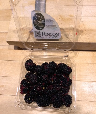 Blackberries are rich in bioflavonoids and Vitamin C.
