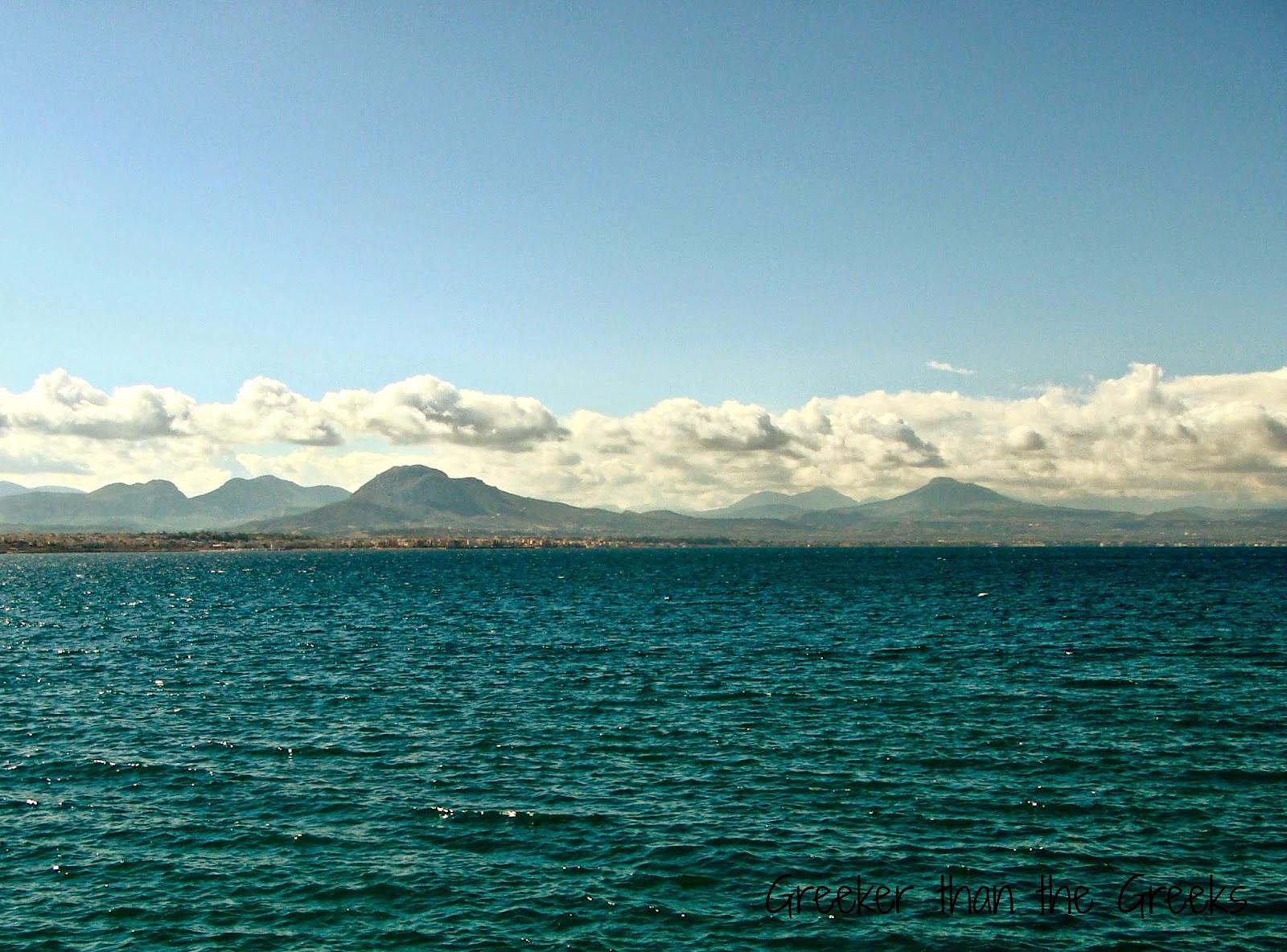 The sea, the deep blue sea
