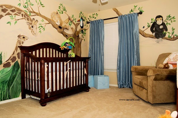 Awesome Decoration Chambre Bebe Jungle Photos - Design Trends 2017 ...