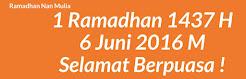 Marhaban Ya Ramadhan !