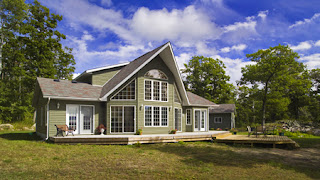 Beaver homes cottages a dream with a view for Home hardware house plans