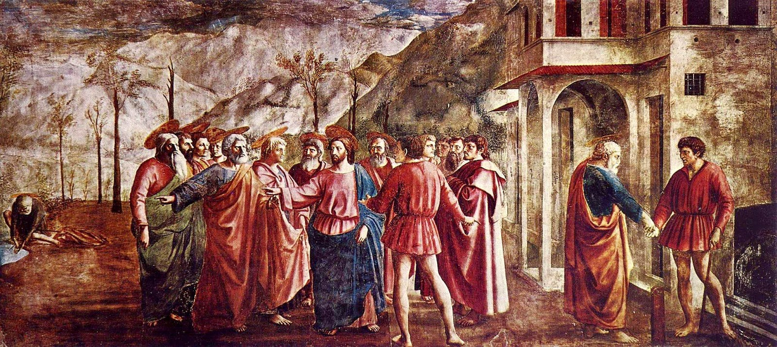 an analysis of masaccios 1428 the holy trinity The holy trinity, the trinity trinity analysis page's what is not found here is masaccio's use of light colors and a unique softness applied to his.