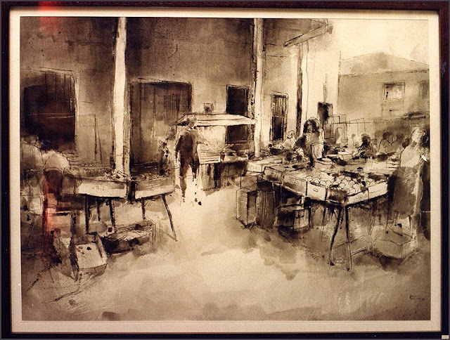 SANT LLUC-CERCLE ARTISTIC-BARCELONA-PREMIOS-DIBUJO-DIBUJANTES-PINTOR-ERNEST DESCALS