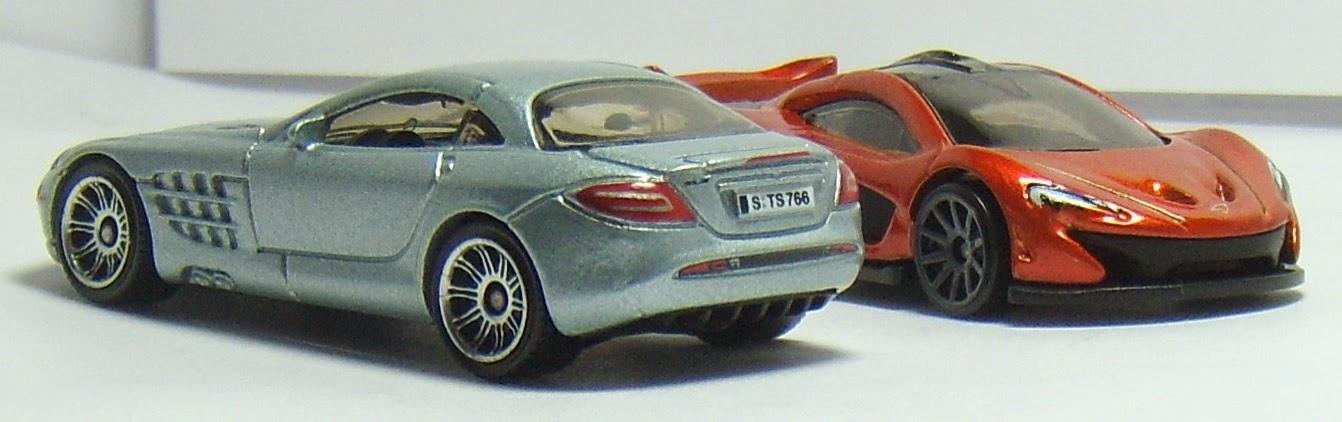 Two lane desktop mclaren 39 s hot wheels mclaren p1 and for Hot wheels mercedes benz