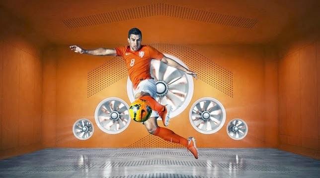 Penampakan Jersey Belanda Home Piala Dunia 2014