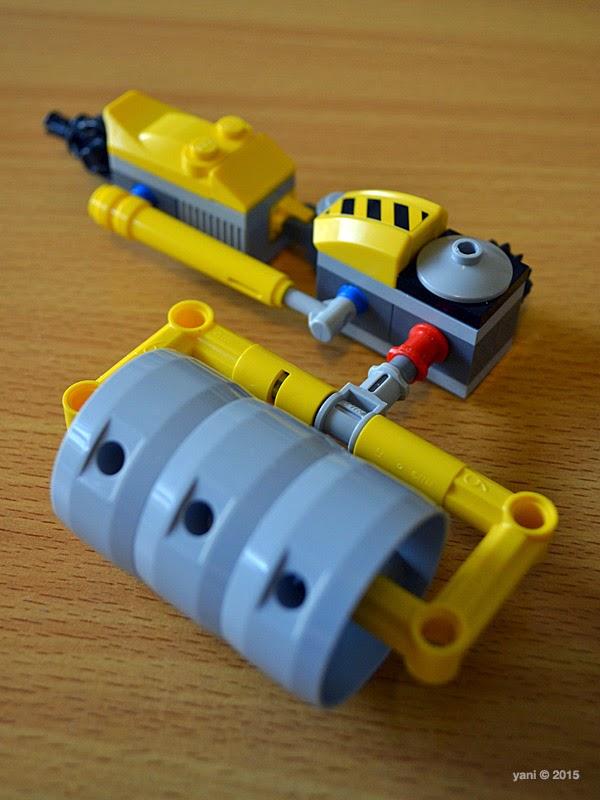 emmet's construct-o-mech - steamroller arm