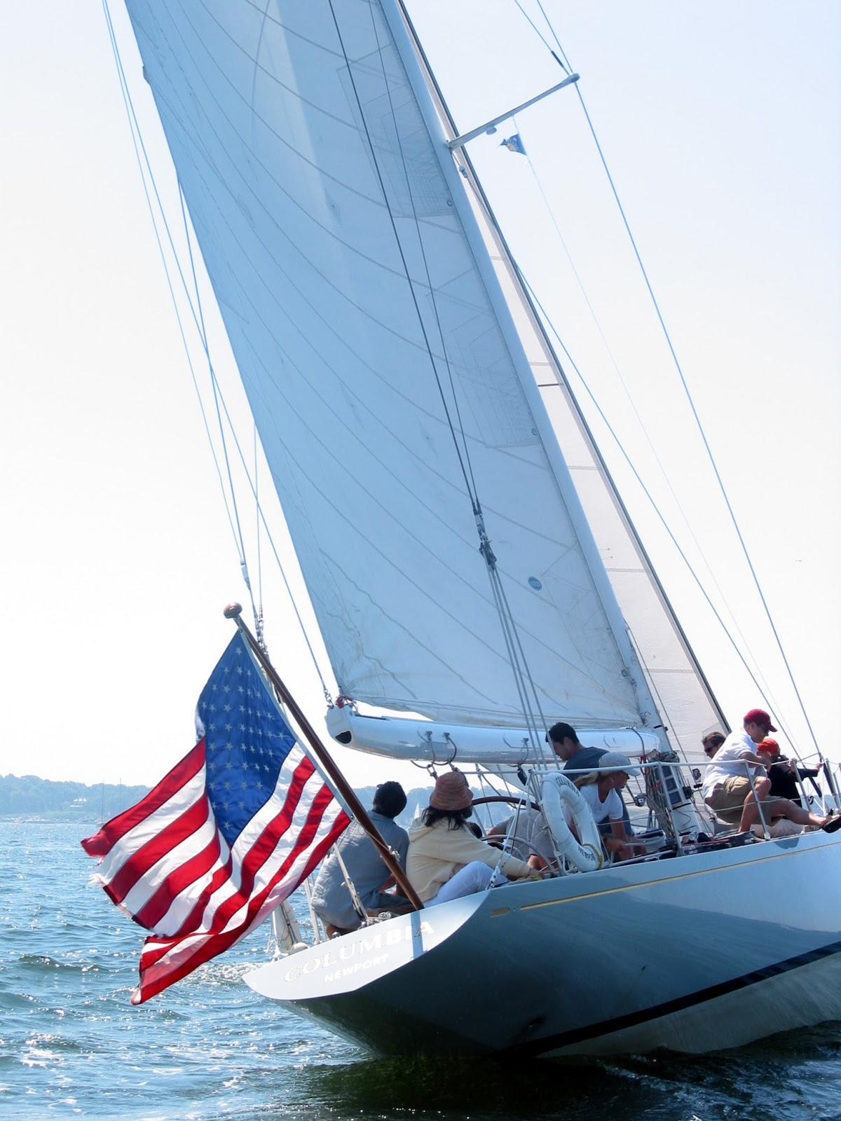 12 Meter Charters Sailing In Newport RI Happy Flag Day From Newport Rhode Island