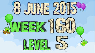 Angry Birds Friends Tournament level 1 Week 160